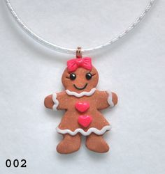polymer clay gingerbread girl