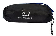 Camping Sleeping Bag Accessories - STC Travolent Sleeping Bag Liner Warm Weather Sleeping Bag Hostel Travel Sheet  Blue ** Click on the image for additional details.