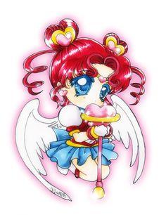 Sailor Chibi-Chibi by oliko.deviantart.com on @deviantART