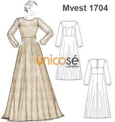 c341357b6 Ùnicosé La Moldería en 2019 | corte y costura | Vestidos con mangas,  Vestidos y Patrones de vestidos