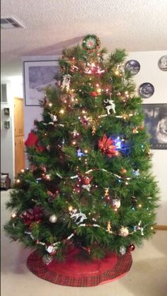 Our 9 foot tree 2014