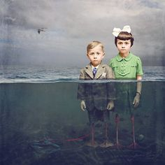Artist colorized old photos with surreal twist - Imgur