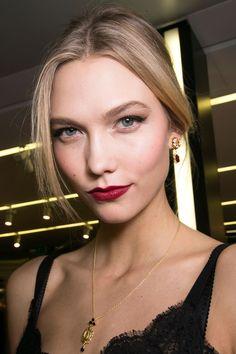 Dolce &; Gabbana   - HarpersBAZAAR.com #Fall2015 #makeup #trends
