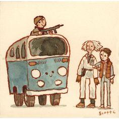 """Run for it Marty!"" Scott C"