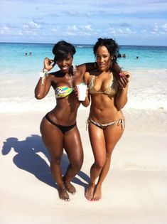 Black African women and black African descent women embrace and celebrate their natural signature Motherland curves