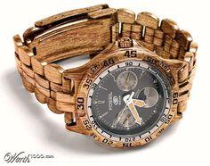 liquid wood watch design