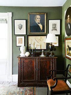 Inside Artist Frank Faulkner's Magical 18th-Century Home - One Kings Lane