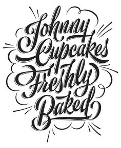 Tshirt for Johnny Cupcakes.