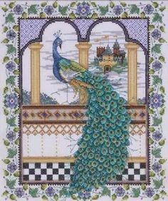 Joan Elliott - Majestic Peacock Cross Stitch Kit