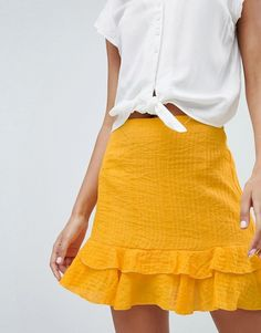 Missguided | Missguided Frill Mini Skirt