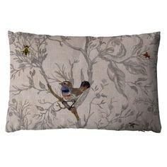Bluethroat cushion