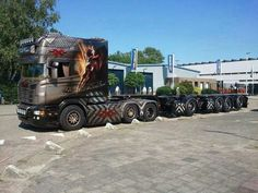 Truck Big Rig Custom