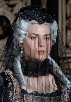 catherine-the-great-tv: Behind the scenes, Catherine the Great, 2015, tv series. Yuliya Snigir as Catherine Alexeevna.