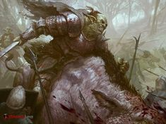 Thrag the Cruel by Dane Madgwick | Illustration | 2D | CGSociety