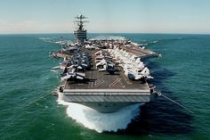 USS Stenis - had the opportunity to tour this ship when it was christened, and the newest carrier in the early 90s.
