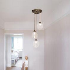 Holborn Multi Pendant Light | Classic | Modern | Glass Ceiling Light