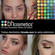Bh Cosmetics 120 Color Eyeshadow Palette 2nd Edition Türkiye 'de sadece jimodacom 'da.  #Bhcosmetics #makyaj #kozmetik #bakım #gününmakyajı #gelinmakyajı #summercolor