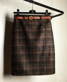 Autumn & Winter Thicken Woolen Plaid Skirt________5% OFF Coupon Code: PNTRST05_________Zorket Provides Only Top Quality Products for Reasonable Prices + FREE SHIPPING Worldwide_________