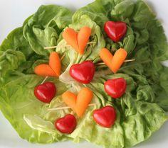 tuto DIY déco mariage original tomate carotte coeur