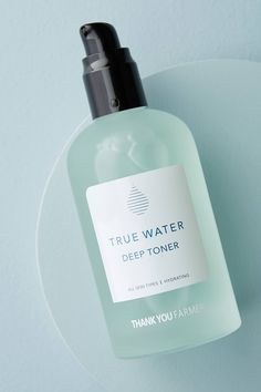 Thank You Farmer True Water Deep Toner by in Mint Size: All, Bath & Body at Anthropologie Thank You Farmer, Beauty Kit, Beauty Secrets, Beauty Products, Face Products, Daily Beauty, Putting On Makeup, Neem Oil, Beauty Regimen