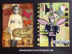 Claudine's Art Corner: Altered Playing Card Challenge Week 5