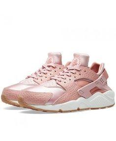 81fed4abc1376 Nike Air Huarache Run Premium Pink Glaze Pearl Pink Trainer