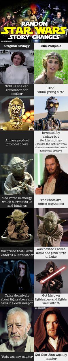 Random Star Wars Facts - 9GAG