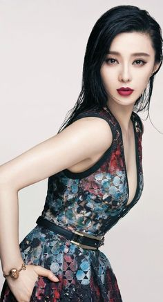 Fan Bingbing for Vogue Taiwan September 2015 - Elie Saab