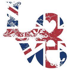 Union Jack ♔ London Love