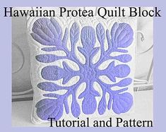 Hawaiian Quilt Patterns, Hawaiian Quilts, Hawaiian Crafts, Hawaiian Monarchy, Mulberry Tree, Pattern Blocks, Block Patterns, Applique Patterns, Applique Quilts
