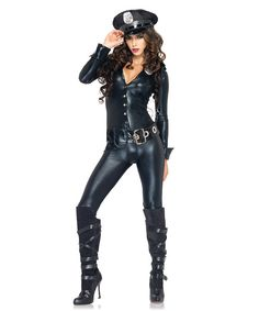 Look at this Black Police Officer Costume - Women on #zulily today!