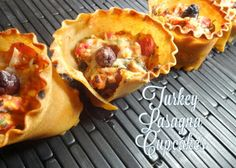 Colleens Kitchen: Turkey Lasagna Cupcakes