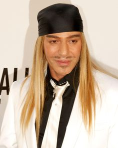 John Charles Galliano is a Gibraltar-born Italian-British fashion designer who was the head designer of French fashion companies Givenchy (July 1995 to October 1996), Christian Dior (October 1996 to March 2011), and his own label John Galliano (1988 to 2011).[3] At present, Galliano is set to take over the creative direction of Paris-based fashion house Maison Martin Margiela.