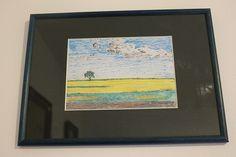 Aurelian Ghita, pencil drawing, field