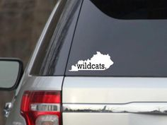 Kentucky Wildcats Decal by SincerelySunshine00 on Etsy