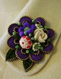 Purple.... by woolly fabulous, via Flickr: