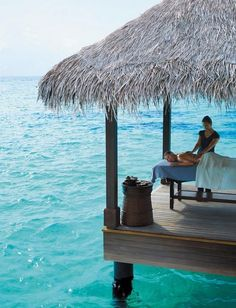 Experience pure bliss as you stay in the Maldives, with these luxurious private, over the ocean rooms. Relax with a world class massage overlooking the prettiest water in the world.