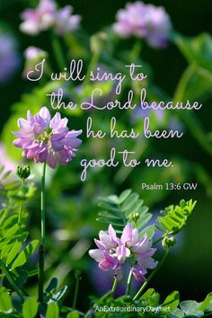 Psalm 13 reminds us that God is always good. He's faithful to love us, rescue us, and answer every prayer. Be Good To Me, God Is Good, Praise The Lords, Praise And Worship, Bible Verses Quotes, Bible Scriptures, Scripture Images, Scripture Memorization, Faith Scripture