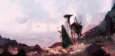 """""""A Journey In Other Worlds"""": Stunning Digital Concept Art By Amir Zand"""