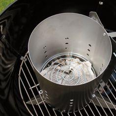 Grill Skills - Using a Chimney Starter | Weber.com