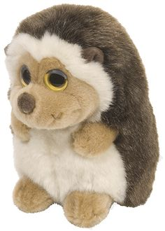 He looks so shy. :o) Hedgehog Wild Watchers Stuffed Animal by Wild Republic