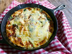 Foodist Approved: Anytime Frittata with Sweet Potatoes and Spinach | Summer Tomato
