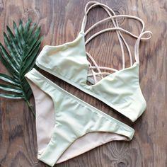 mint to the party strappy bikini