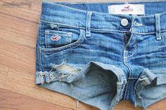 hollister short pants <3 so cute jeans