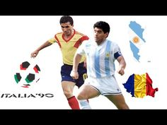 Diego Maradona Vs Gheorghe Hagi .. ( 1990 ) World Cup - YouTube Diego Armando, World Cup, Youtube, Romania, World Cup Fixtures, Youtubers, Youtube Movies