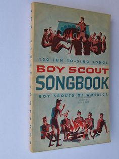 Boy Scout Songbook 1963 Edition