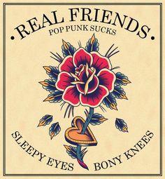 radiicvl:  Real Friends   Sleepy Eyes and Bony Knees   radiicvl...