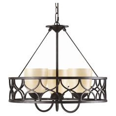 I pinned this Cercado Chandelier from the Lighting Under $150 event at Joss and Main! I REALLY ♥ ♥ this one! ;-)