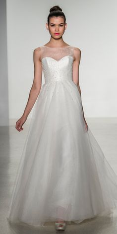 Amsale - Amsale Fall 2014 Wedding Dresses - InStyle Weddings - Celebrity - InStyle
