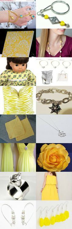 The Beautiful! by Rachel on Etsy--Pinned with TreasuryPin.com #Journal #SlaveBracelet #Jewelry #DollClothes #Earrings #Necklace #Wedding #Bridesmaid #Partydress #Yellow